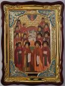 Оптинские старцы икона храмовая