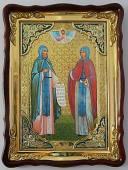 Петр и Феврония, икона храмовая