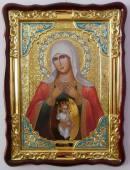 Помощница родах Божия Матерь икона храмовая