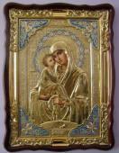Почаевская Божия Матерь (в ризе), икона храмовая