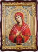 Семистрельная Божия Матерь икона храмовая