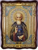 Сергий Радонежский, пояс, икона храмовая