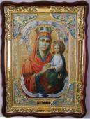 Споручница грешных Божия Матерь икона храмовая