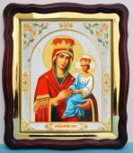 Споручница грешных Божия Матерь, аналойная икона (43 х 50 см)