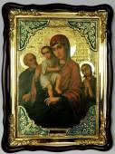 Трех радостей Божия Матерь икона храмовая