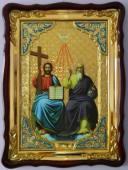 Троица Новозаветная, икона храмовая