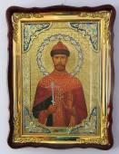 Царь Николай страстотерпец и мученик, икона храмовая