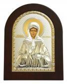 Матрона Московская, икона в посеребренном окладе