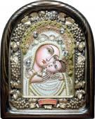 Касперовская икона Божией Матери из бисера