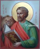 Апостол Марк писаная икона маслом артикул 6021