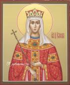 царица Елена икона рукописная, артикул 6018