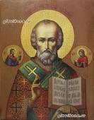 Николай Чудотворец - икона под старину