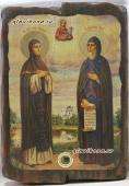 Петр и Феврония - икона под старину