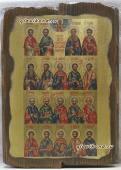 Собор целителей - икона под старину