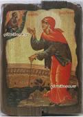 Ксения - икона под старину