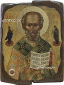 Николай Святитель Мирликийский - икона под старину