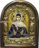 Именная икона Марии из бисера