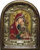 Праведная Анна икона бисером