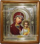 Икона Казанская в киоте