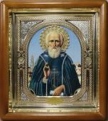 Сергий Радонежский икона в киоте