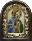 Иоанн Богослов икона из бисера