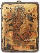 Всецарица - икона под старину