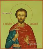 Иоанн Сочавский, писанная икона артикул 6040