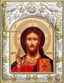 Господь Вседержитель, икона в ризе, артикул 41103