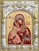 Владимирская Божия Матерь, икона в ризе, артикул 41208