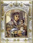 Вифлеемская Божия Матерь икона в ризе артикул 41249