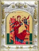 "Божия Матерь ""Всецарица"" икона в ризе артикул 41315"