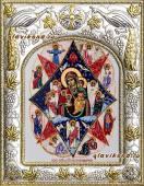 """""""Неопалимая Купина"""" икона в ризе артикул 41264"""