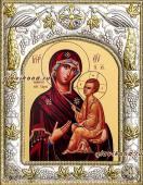 """Божия Матерь """"Тихвинская"""" икона в ризе артикул 41239"""