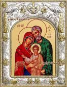 Святое Семейство икона в ризе артикул 41657