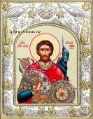 Александр Невский, икона в ризе, артикул 41447