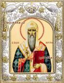Митрополит Алексий, икона в ризе, артикул 41722