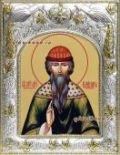 Святой Вадим икона в ризе артикул 41926