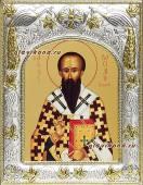 Василий Великий, икона в ризе, артикул 41749