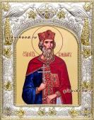 Князь Владимир, икона в ризе, артикул 41408