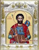 Иоанн Воин икона в ризе артикул 41543