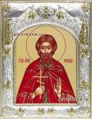 Мученик Леонид, икона в ризе, артикул 41518