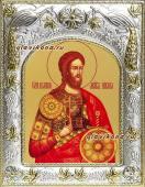 Никита Готфский, икона в ризе, артикул 41928