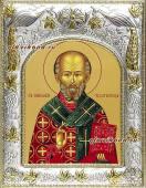 Николай Чудотворец святитель икона в ризе артикул 41728