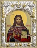 Платон Анкирский, икона в ризе, артикул 41559