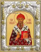 Спиридон Тримифунтский икона в ризе артикул 41704