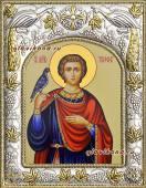 Мученик Трифон, икона в ризе артикул 41979