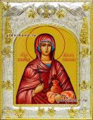 Анастасия Узорешительнца икона в ризе артикул 41511