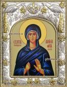 Ангелина Сербская, икона в ризе артикул 41066