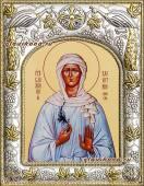 Валентина Минская, икона в ризе артикул 41824