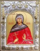 Валерия Кесарийская, икона в ризе артикул 41526